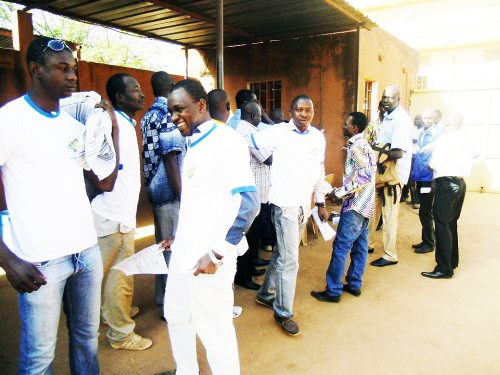 Lydia Ludic Burkina Faso organise une collecte de sang - Mars 2014