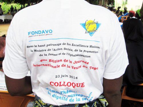 Lydia Ludic Togo renouvelle son engagement solidaire auprès des veuves - Juin 2014