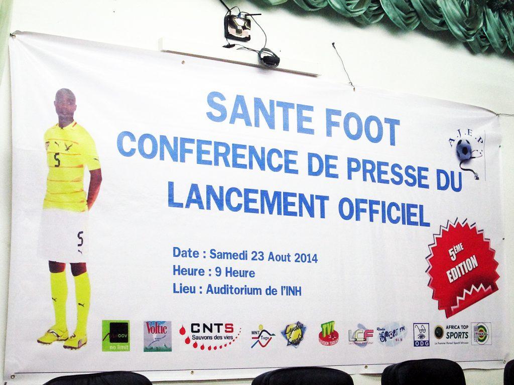 Tournoi Santé-Foot : Lydia Ludic Togo participe à la conférence - Août 2014