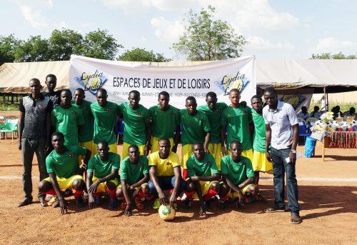 Lydia Ludic Burkina Faso sponsorise la 1ère Coupe du Maire de l'arrondissement n°1 de Ouagadougou - Octobre 2014