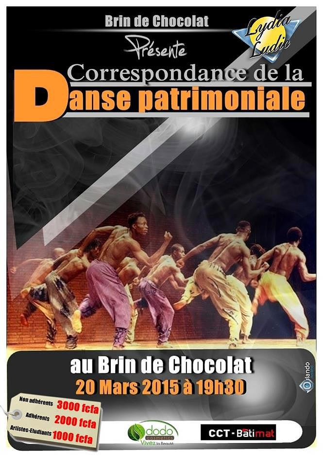 Lydia Ludic Togo sponsorise le spectacle de la compagnie « Brin de Chocolat » - Mars 2015