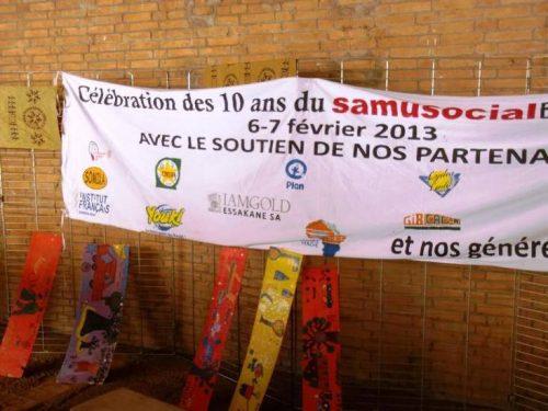 Lydia Ludic Burkina Fasocélèbre les 10 ans du Samusocial Burkina - Février 2013