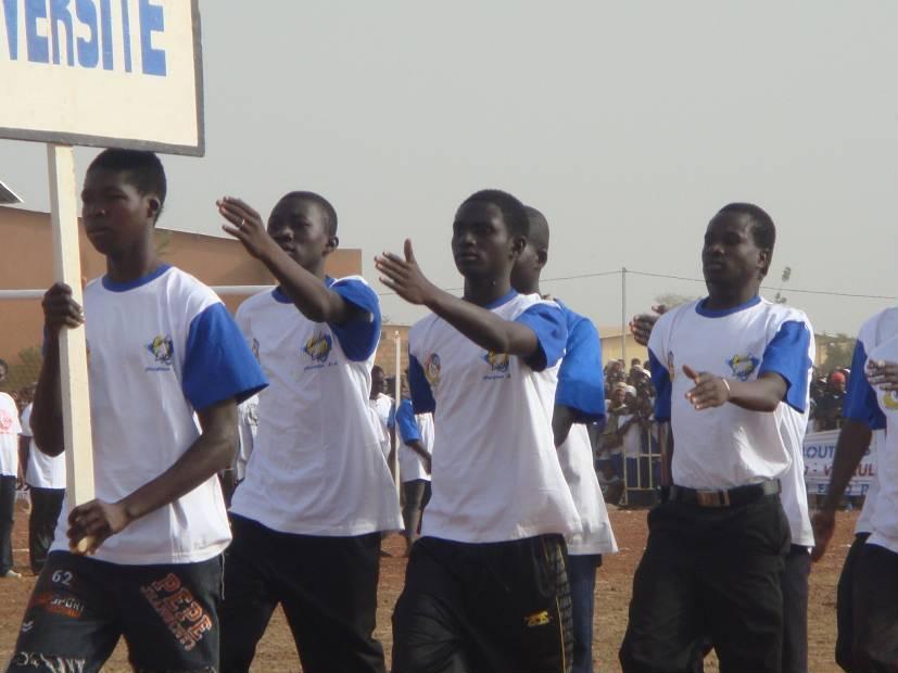 Lydia Ludic Burkina Faso sponsorise lacérémonie du lancement officiel des activités del'USSU-BF - Novembre 2009