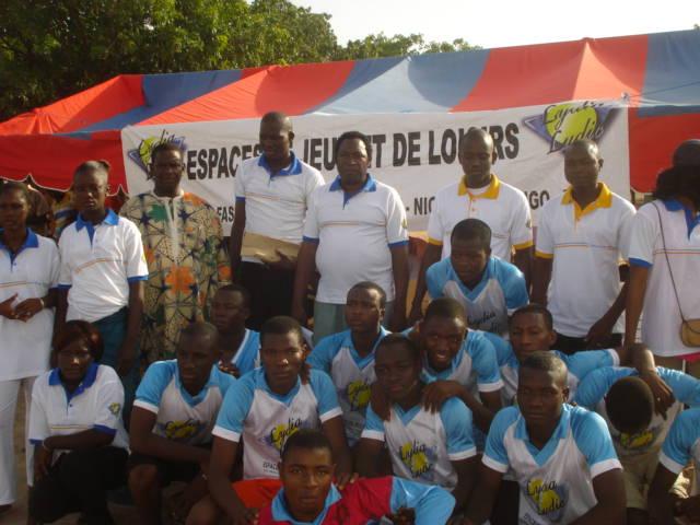 Lydia Ludic Burkina Faso parraine la Coupe du Proviseur du Lycée Santa de Niangoloko - Mai 2012