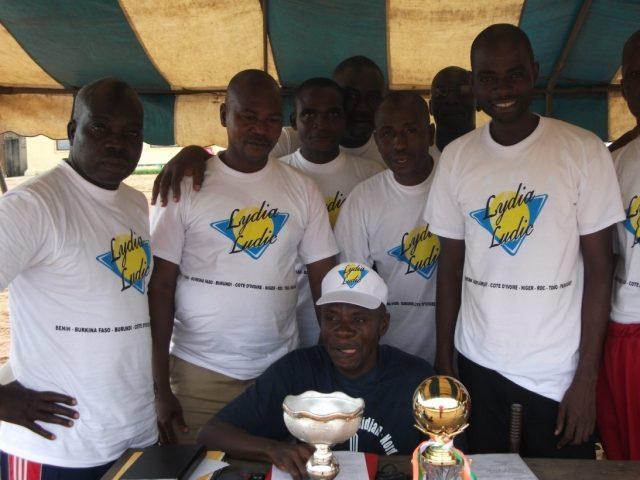 Lydia Ludic Côte d'Ivoire sponsorise le tournoi de Macarana de la Brigade de gendarmerie de Cocody - Juillet 2010